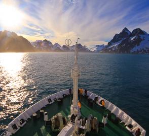 南極半島へ