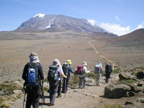 憧れのアフリカ大陸最高峰キリマンジャロへ