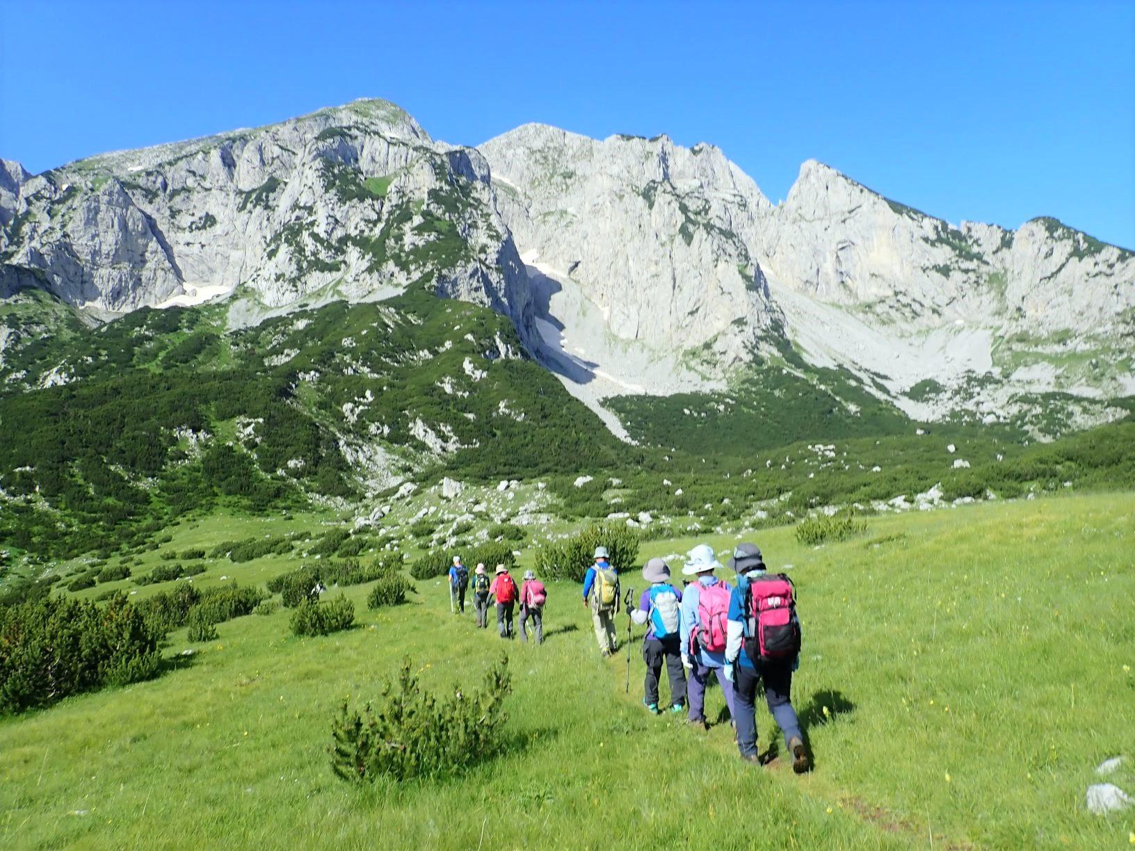 ボスニア・ヘルツェゴビナ最高峰マグリッチへ向けて歩く