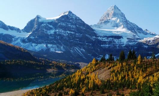 秋のカナダ~美しい秋のアシニボイン山麓へ~