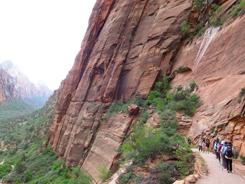 ザイオン国立公園ハイキング