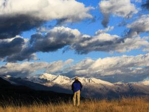 ケウシュから望むアンデス山脈