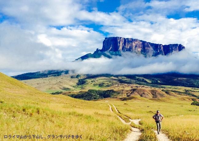 秘境ギアナ高地、ロライマ山・ヘリトレッキングと世界最大落差の滝エンゼルフォール