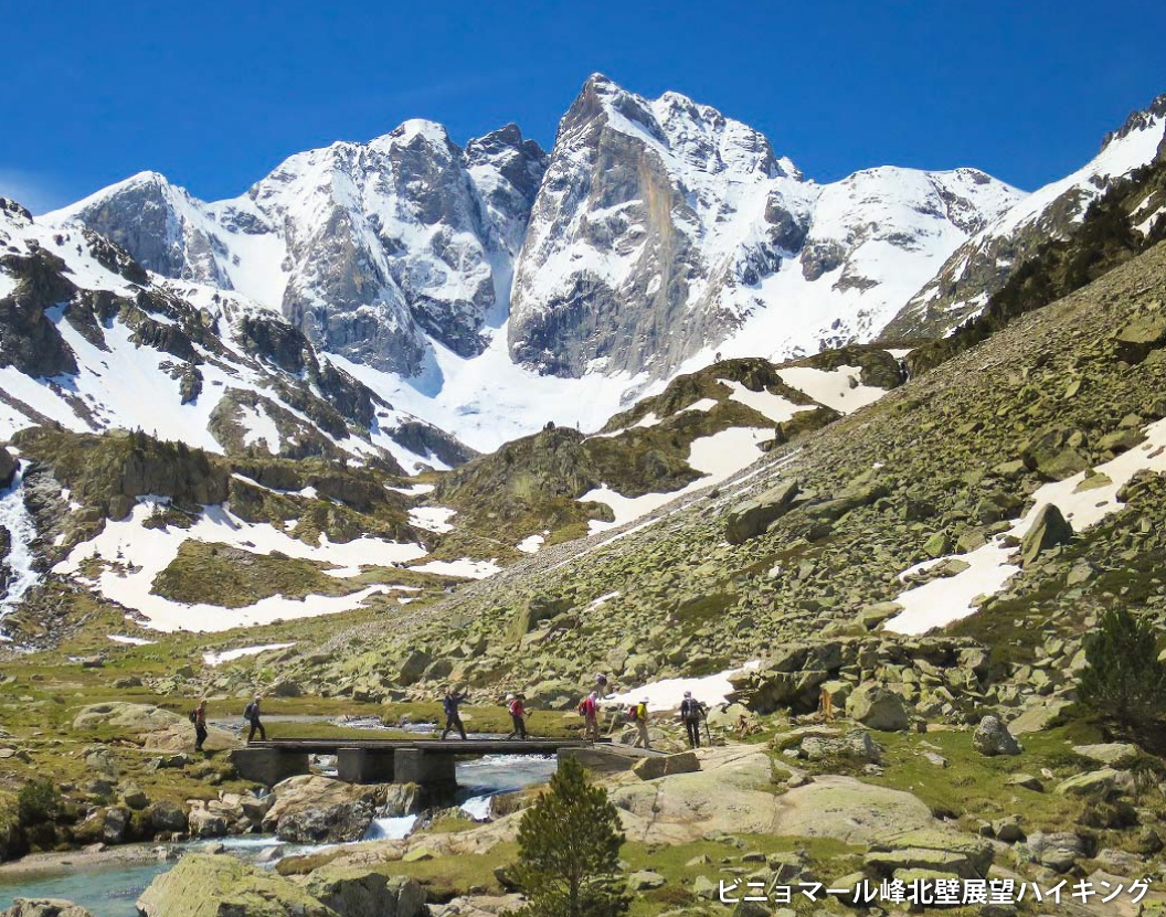 花の宝庫ピレネー山脈ハイキング 9日間
