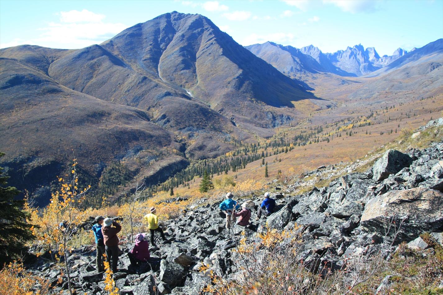 9月1日出発「悠久なる大地へ 秋のユーコン縦断ハイキング9日間」
