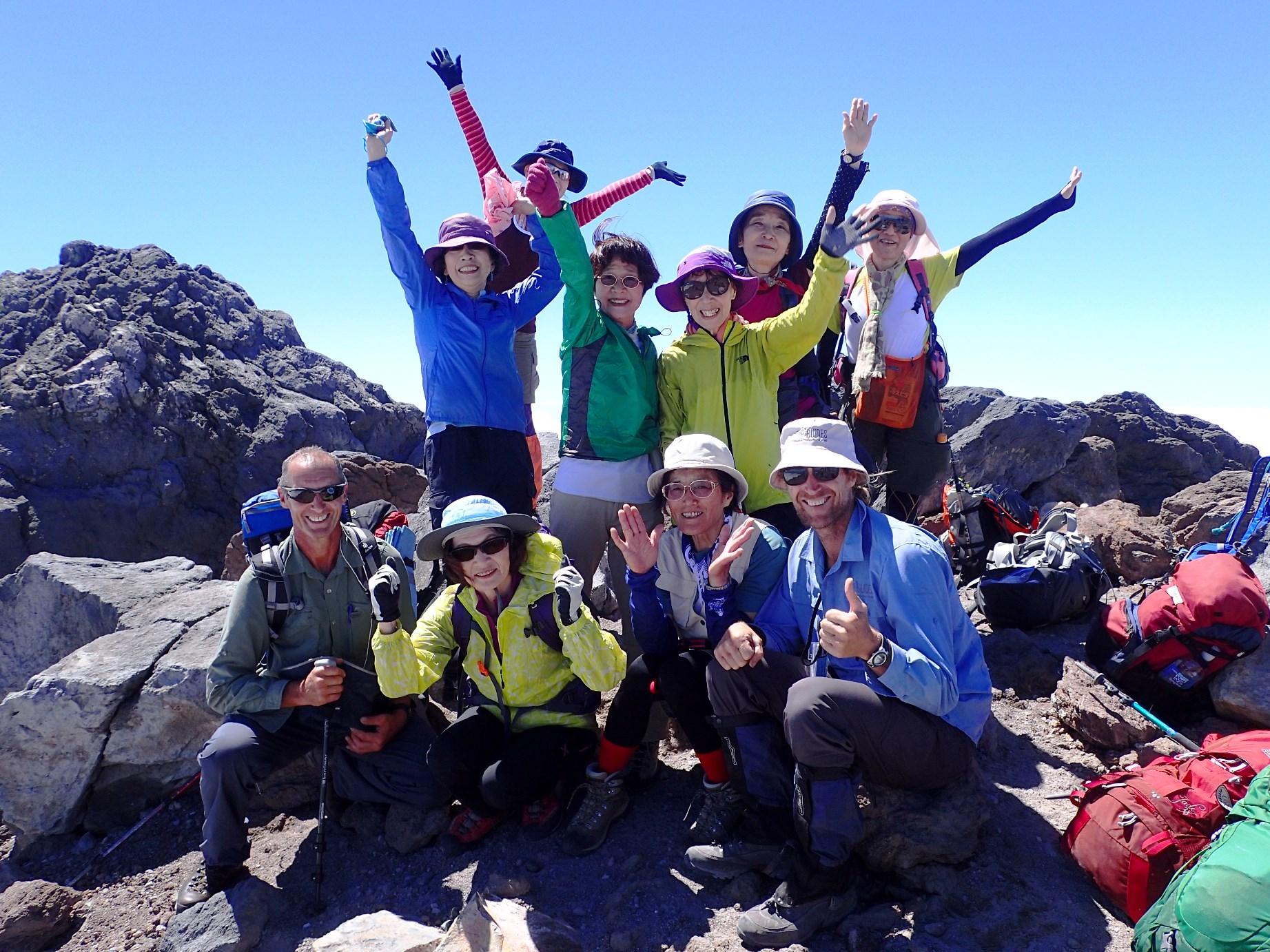 2月16日出発「NZ北島の名峰ルアペフ山、タラナキ山登頂とトンガリロ・クロッシング9日間」