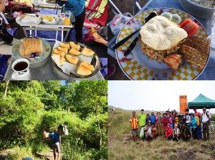 山中の食事と山旅を支えるポーター