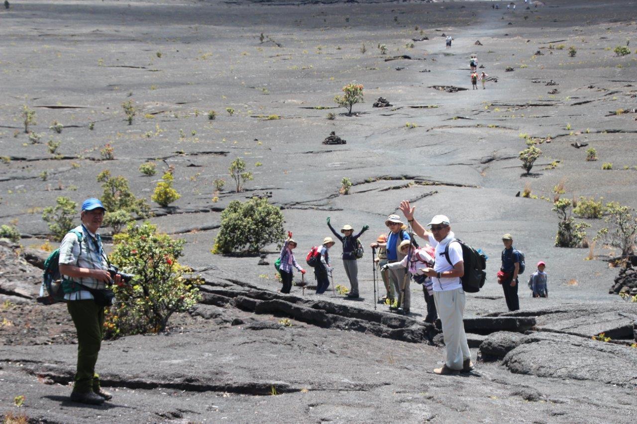 5月22日出発「ハワイ島&カウアイ島ハイキング 7日間」