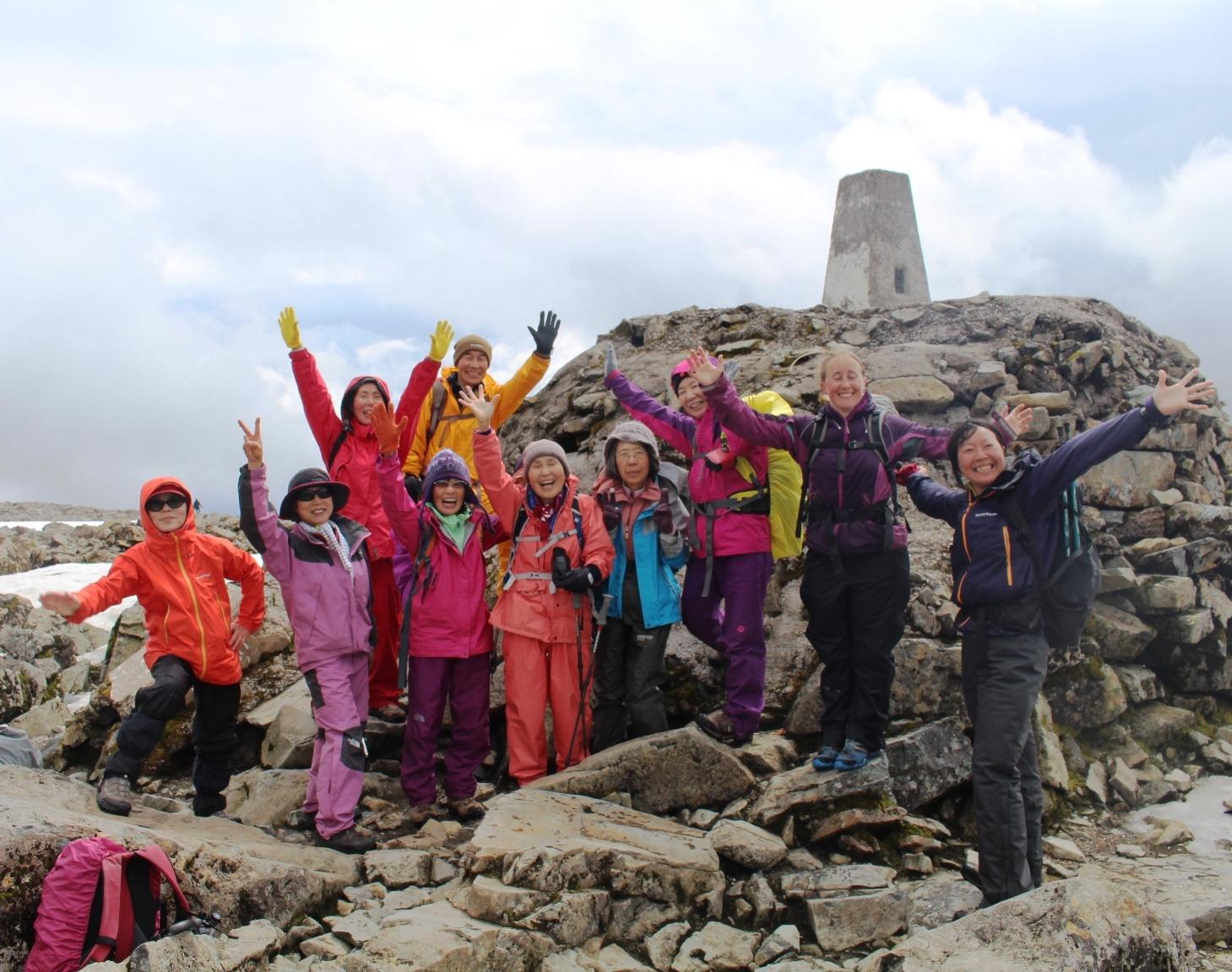 5月16日出発「英国3つの最高峰登頂と湖水地方  エディンバラゆったり滞在 11日間」