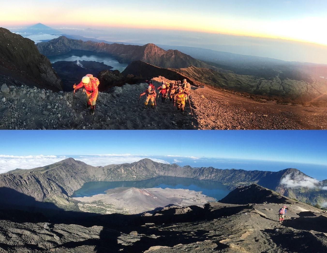 5月17日出発「ロンボク島最高峰リンジャニ山登頂 6日間」