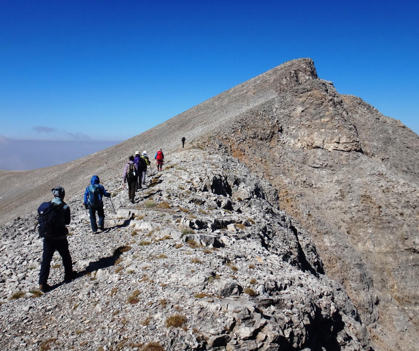 8月19日出発「ギリシャ最高峰オリンポス山登頂と世界遺産メテオラ、エーゲ海クルーズ 10日間」