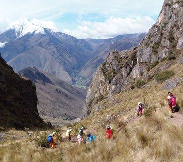 10月20日出発「インカの古道を辿りマチュピチュ遺跡を目指す旅 11日間」