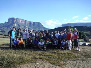 11月1日出発「秘境ギアナ高地、ロライマ山ヘリ・トレッキングと世界最大落差の滝エンゼルフォール 15日間」