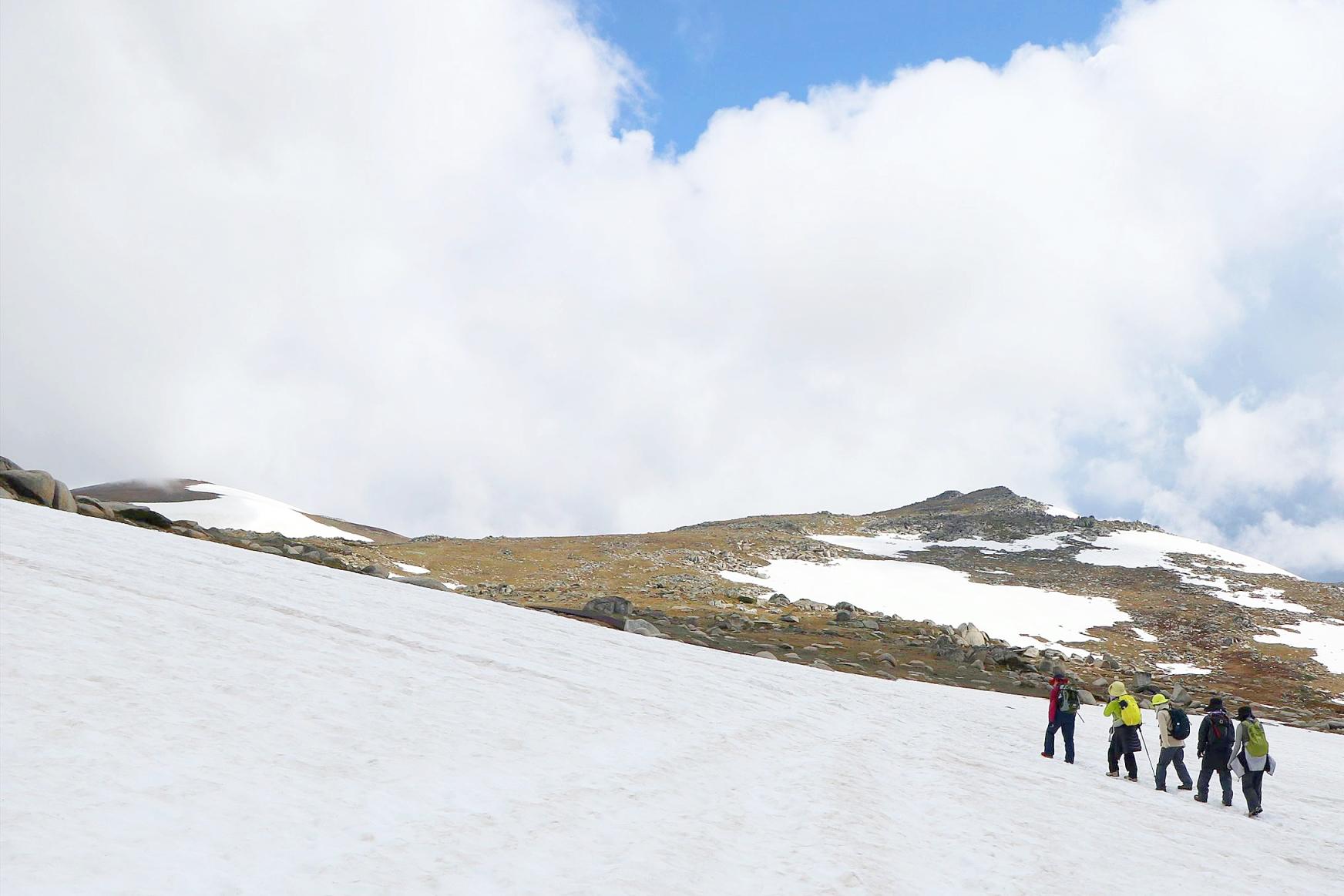Mt.コジオスコの山頂へ