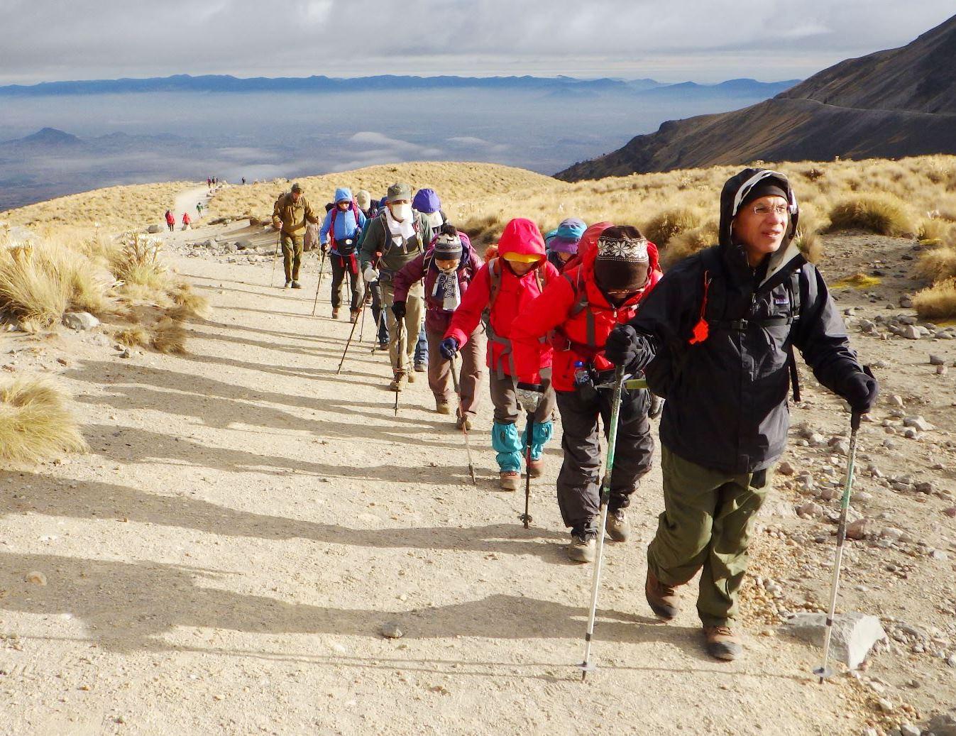 12月6日出発「メキシコ4,000m峰トルーカ山登頂と3つの古代文明遺跡巡りとカンクン 10日間」