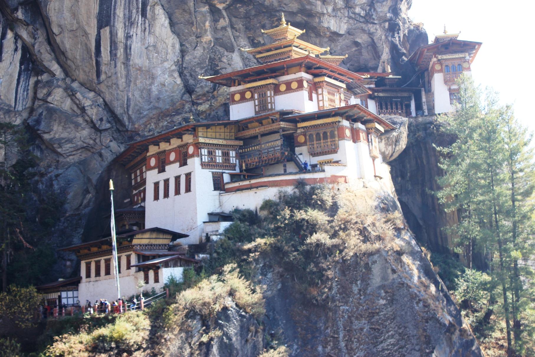 最高の聖地タクツァン僧院