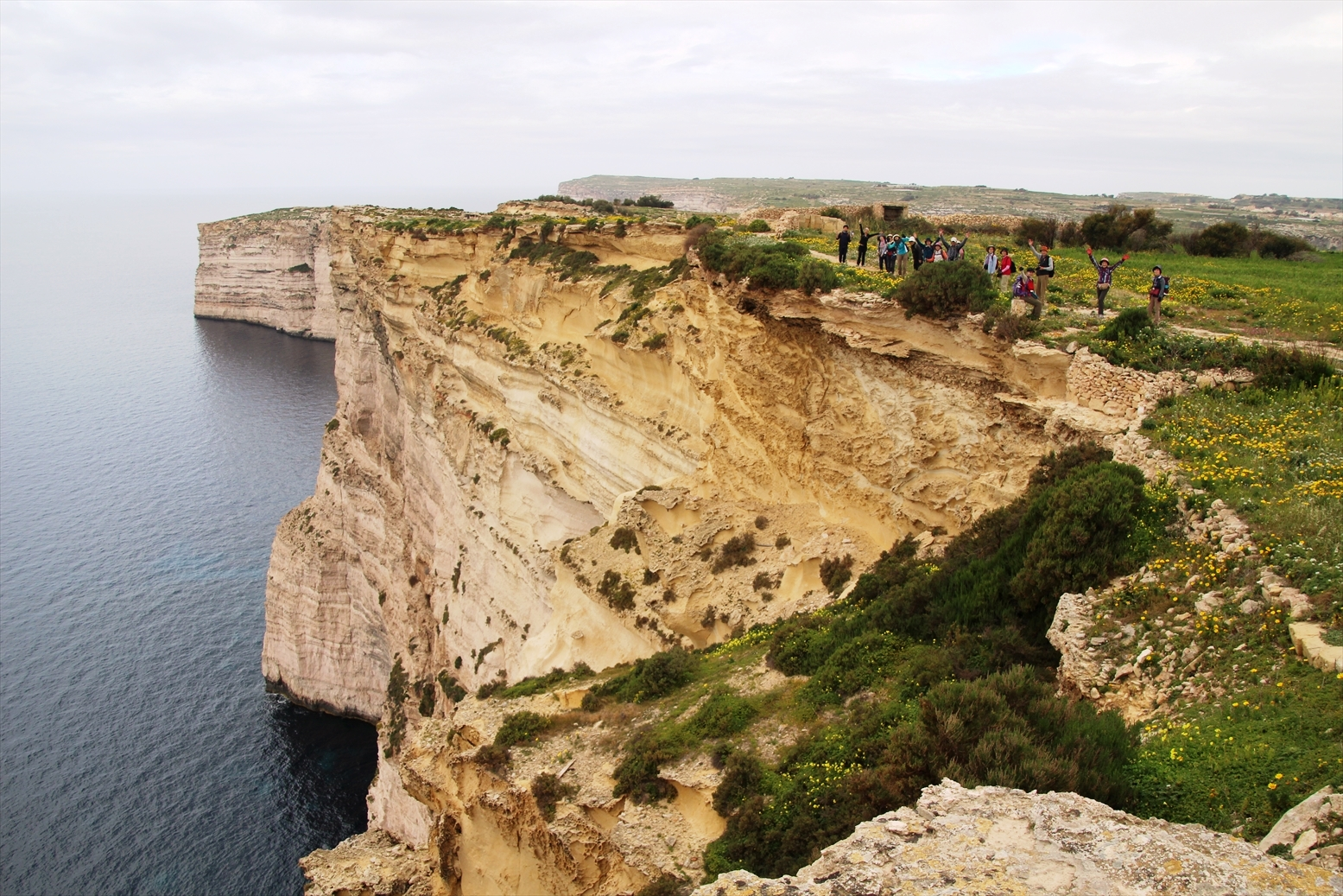 3月6日出発「春の花咲くマルタ諸島ハイキングと世界遺産ヴァレッタ 8日間」