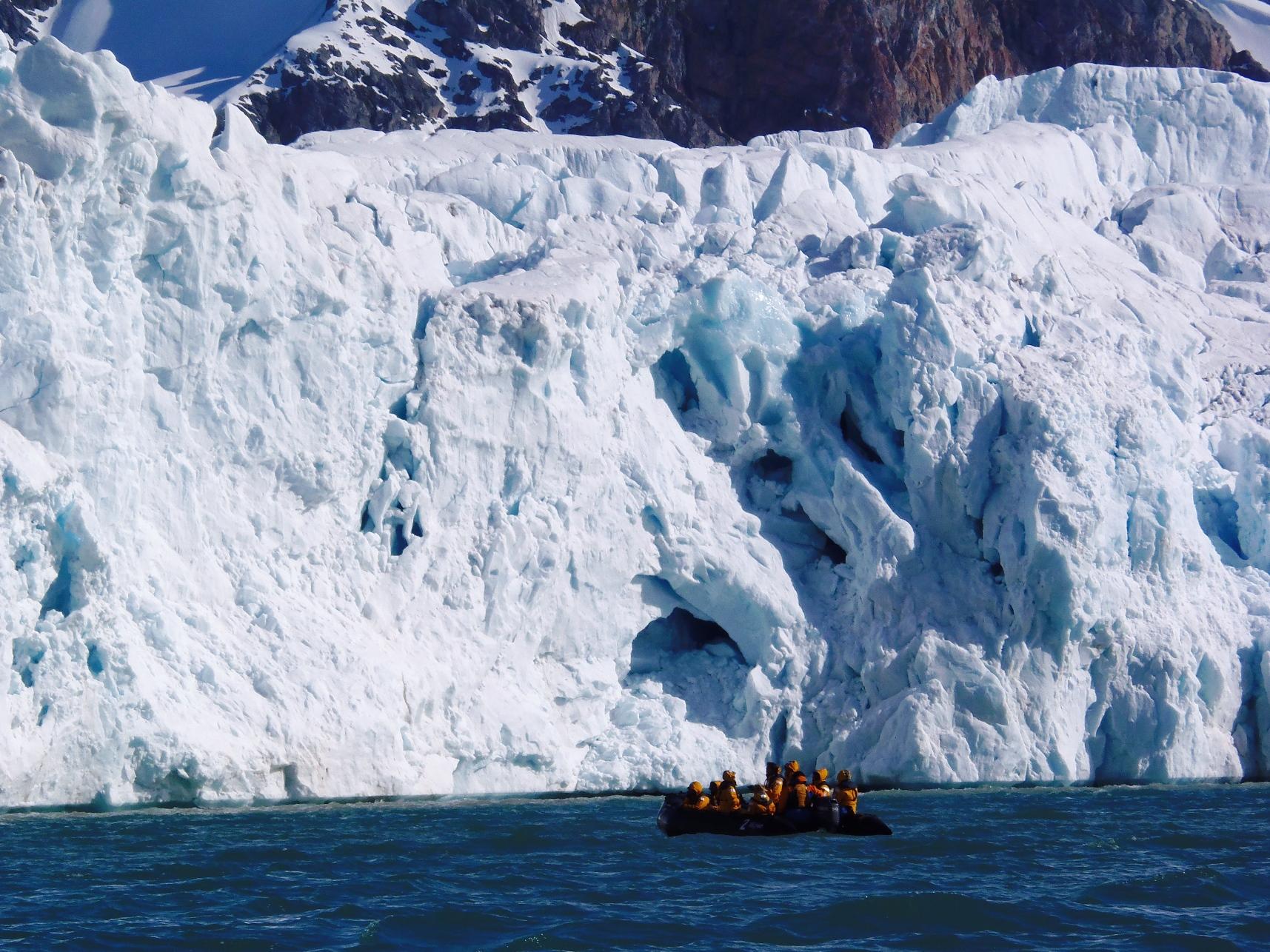 氷河に大接近