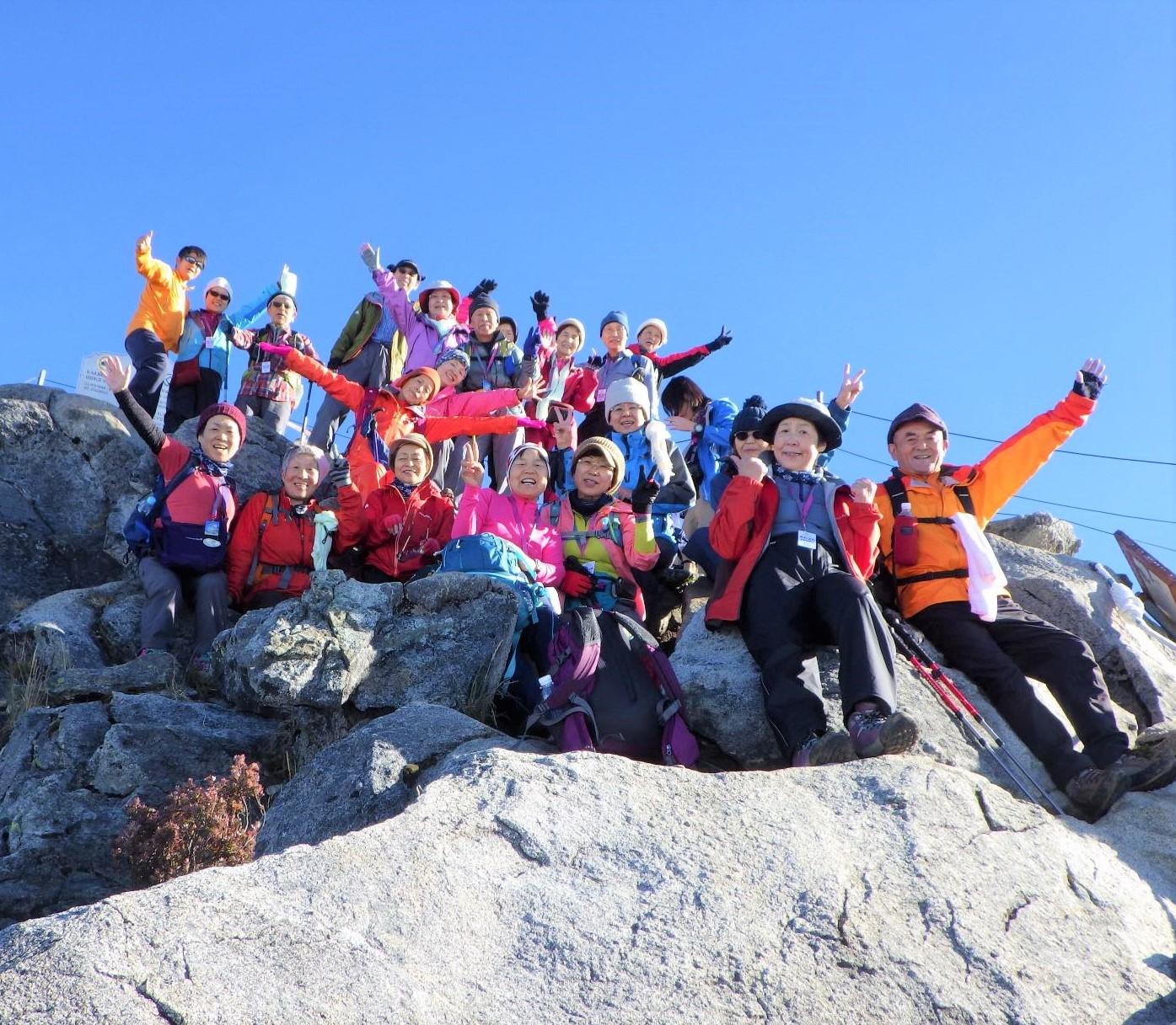 10月25日出発「Mt.キナバル(4,095m)登頂と南の島の休日 6日間」