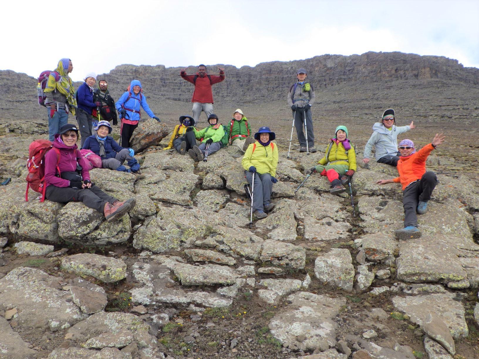 12月5日出発「エチオピア最高峰ラスダシャン(4,550m)登頂とダナキル砂漠 12日間」