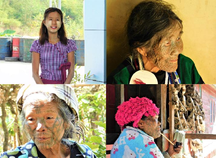 ミャンマーで出会った女性