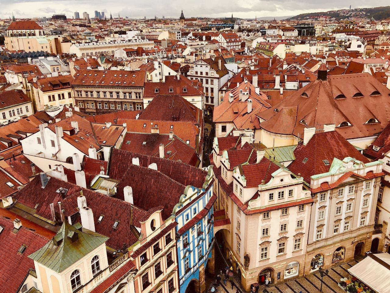 世界遺産プラハの旧市街