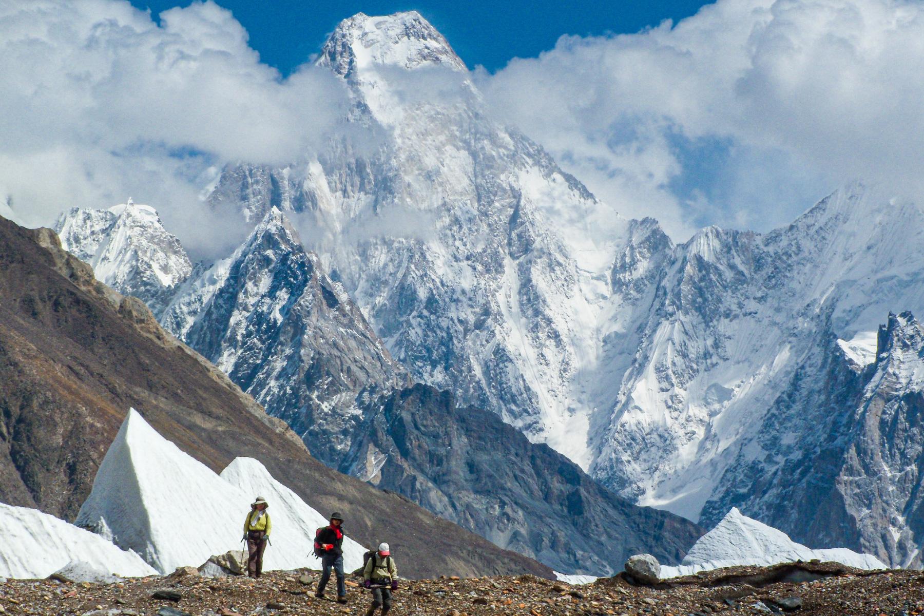 大迫力の山岳展望
