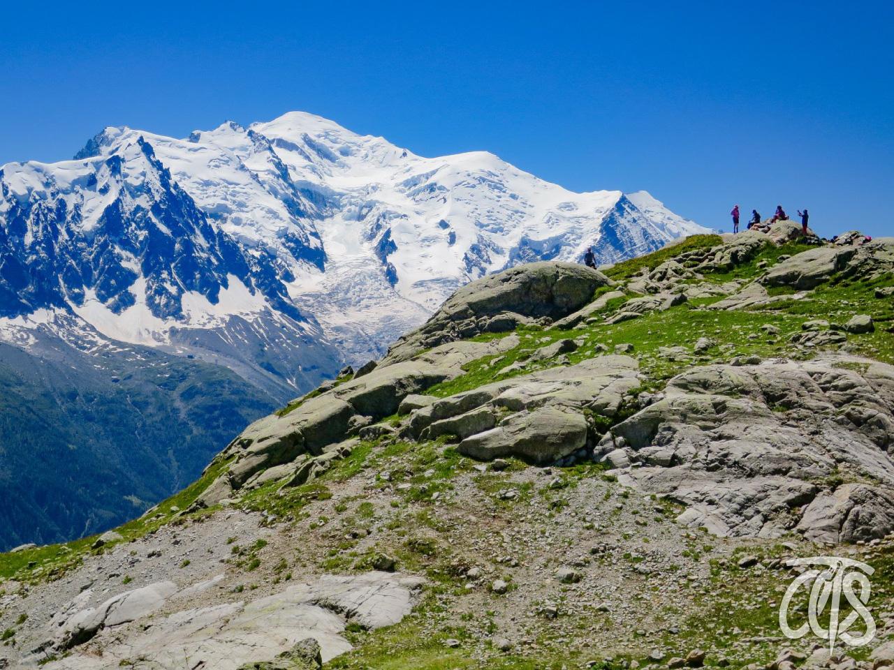 ヨーロッパ・アルプスの最高峰モンブラン