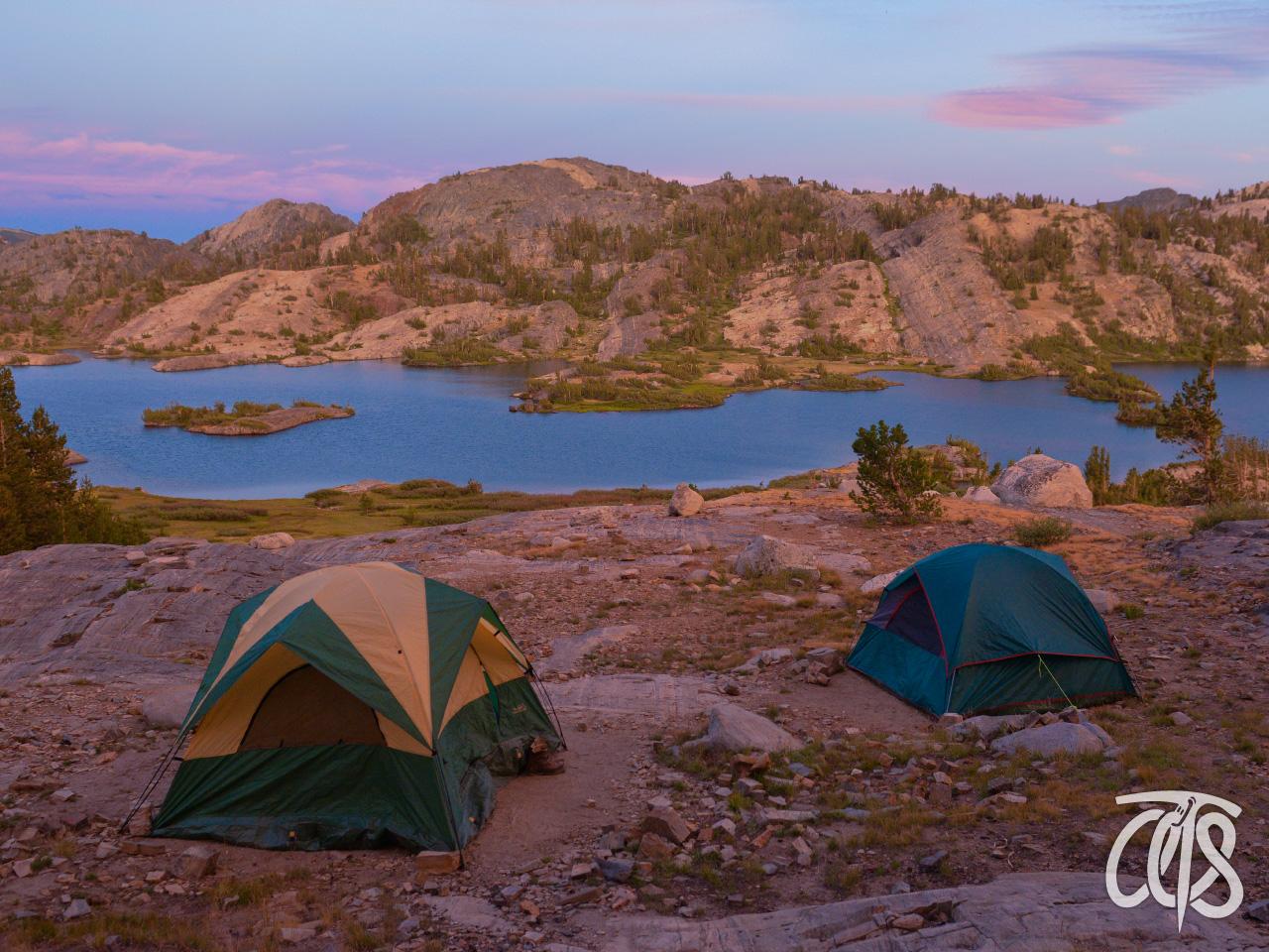 キャンプ生活も楽しみのひとつ