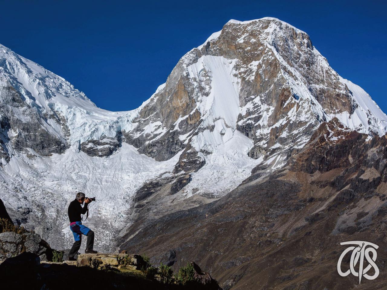ペルーアンデス最高峰のワスカラン