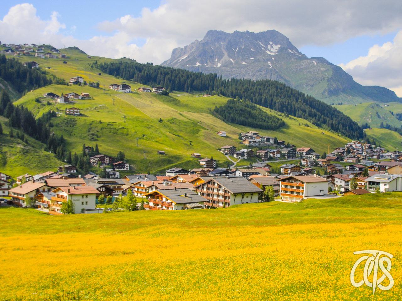 美しいレッヒ村