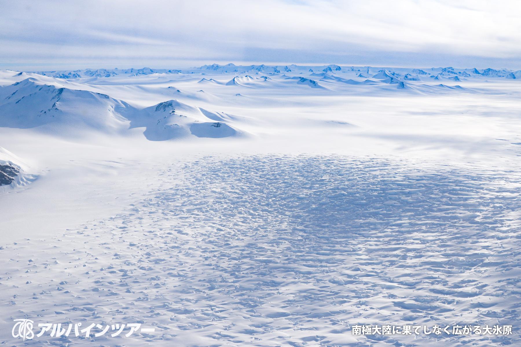 【エリア紹介】 南極点到達と南極最高峰ビンソンマシフの旅