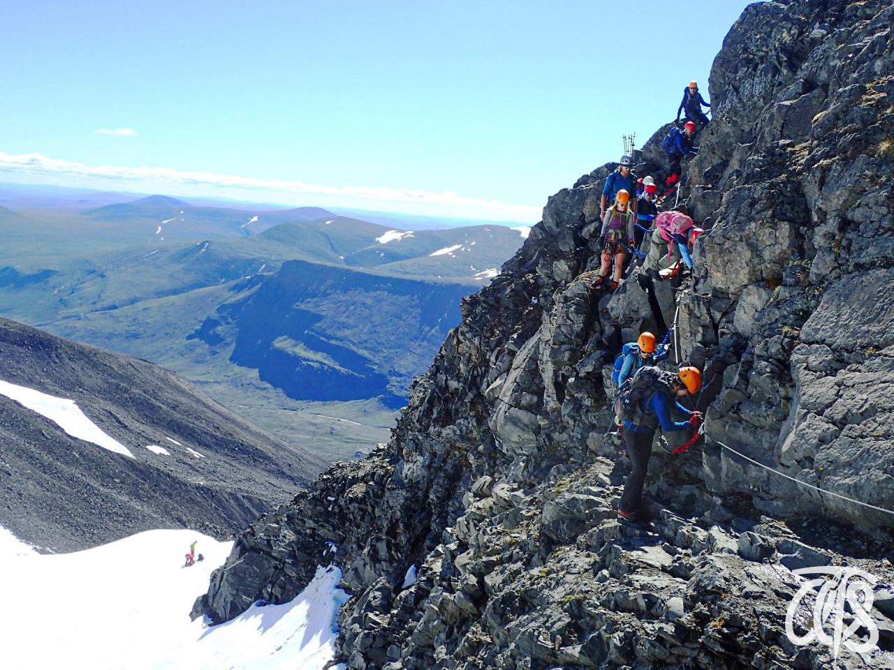 スウェーデン最高峰の頂へ