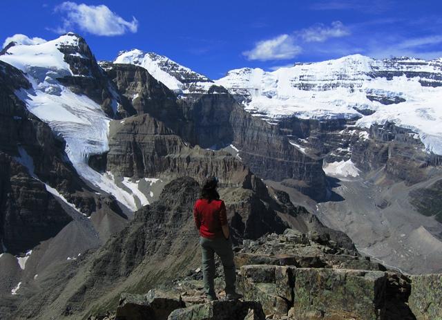 カナディアン・ロッキー3座登頂とロッキー縦断ハイキング 8日間