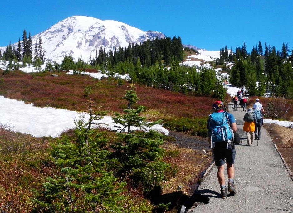 アメリカ北西部の大自然カスケード山脈縦断ベスト・ハイキング 11日間