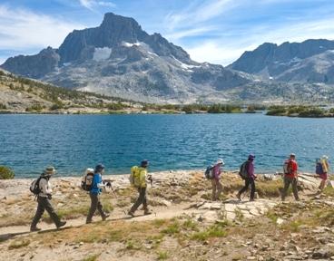 ジョン・ミューア・トレイル・トレッキングとヨセミテ国立公園滞在 8日間