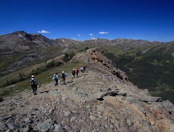 【催行予定・残席僅か】8月20日出発 エスプラナーデ大縦走とフェアビューマウンテン登頂 9日間