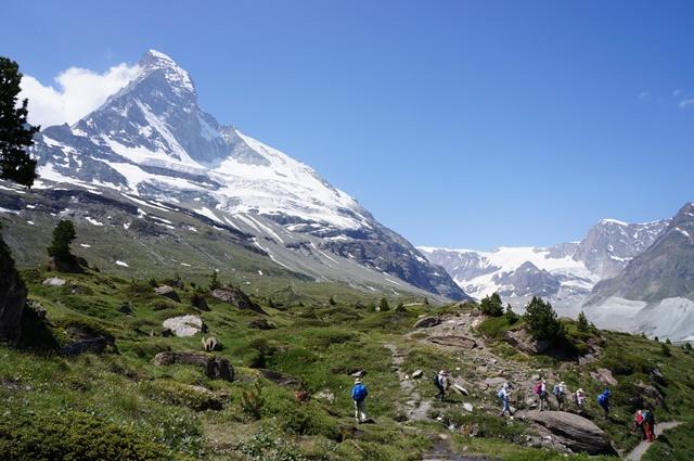 直行便・ビジネスクラスで行く!スイス・アルプス・ハイキング 8日間