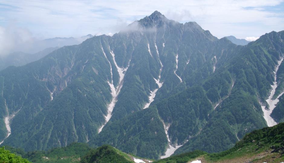 大日三山縦走・奥大日岳から大日岳 3日間
