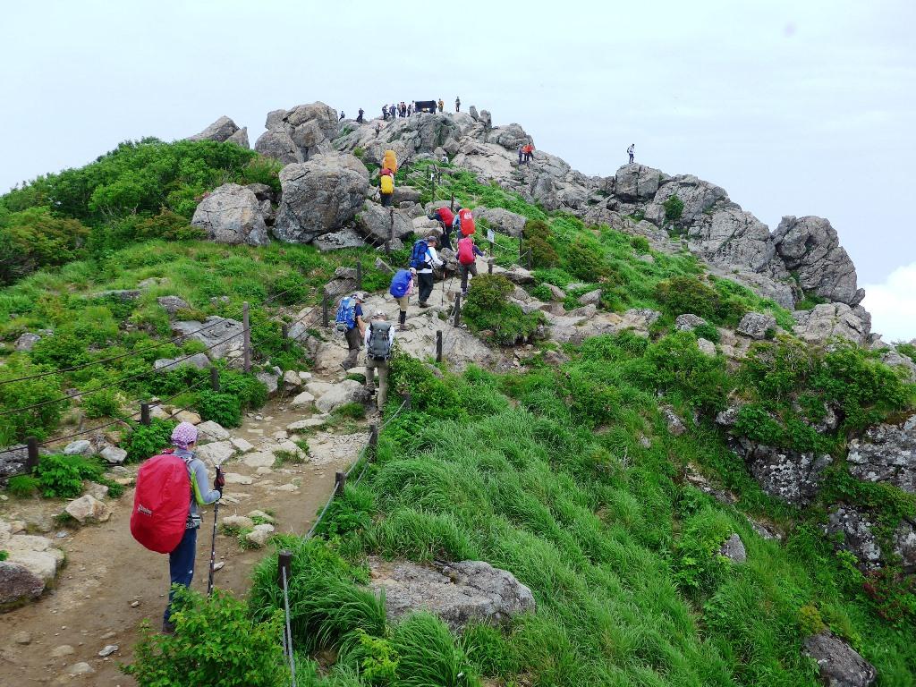 韓国の高峰2座登頂 漢拏山(ハルラサン)と智異山(チリサン) 5日間
