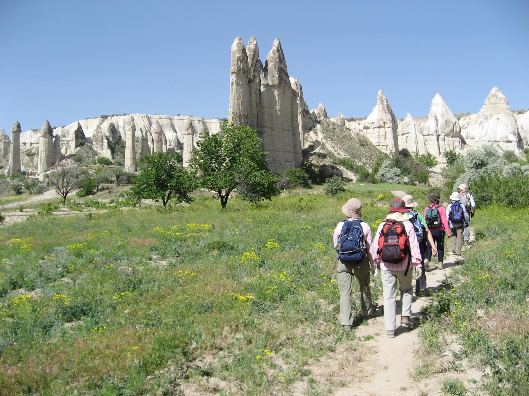トルコの世界遺産カッパドキア・ハイキング 7日間