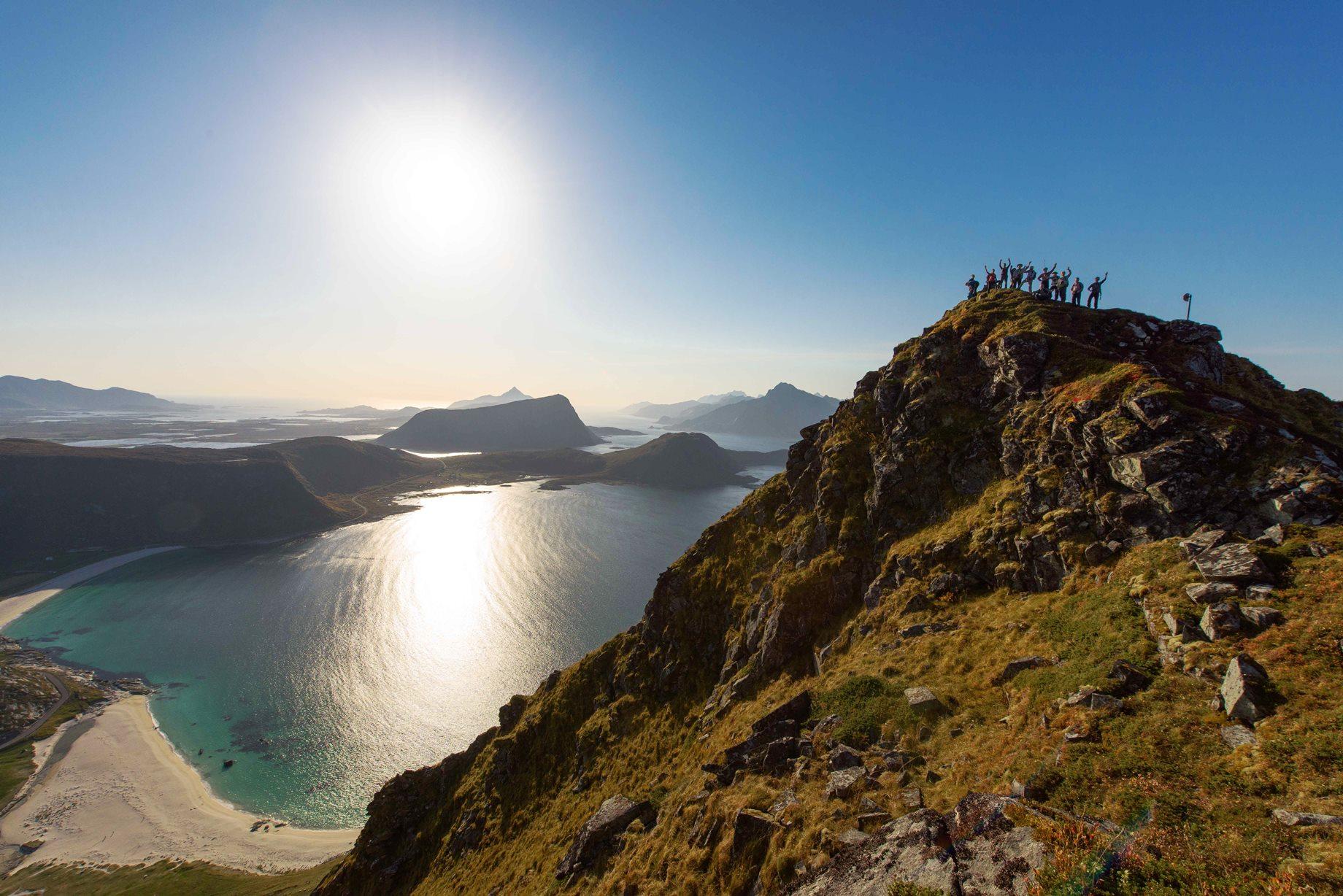 洋上のアルプス・ノルウェーロフォーテン諸島ハイキング 9日間