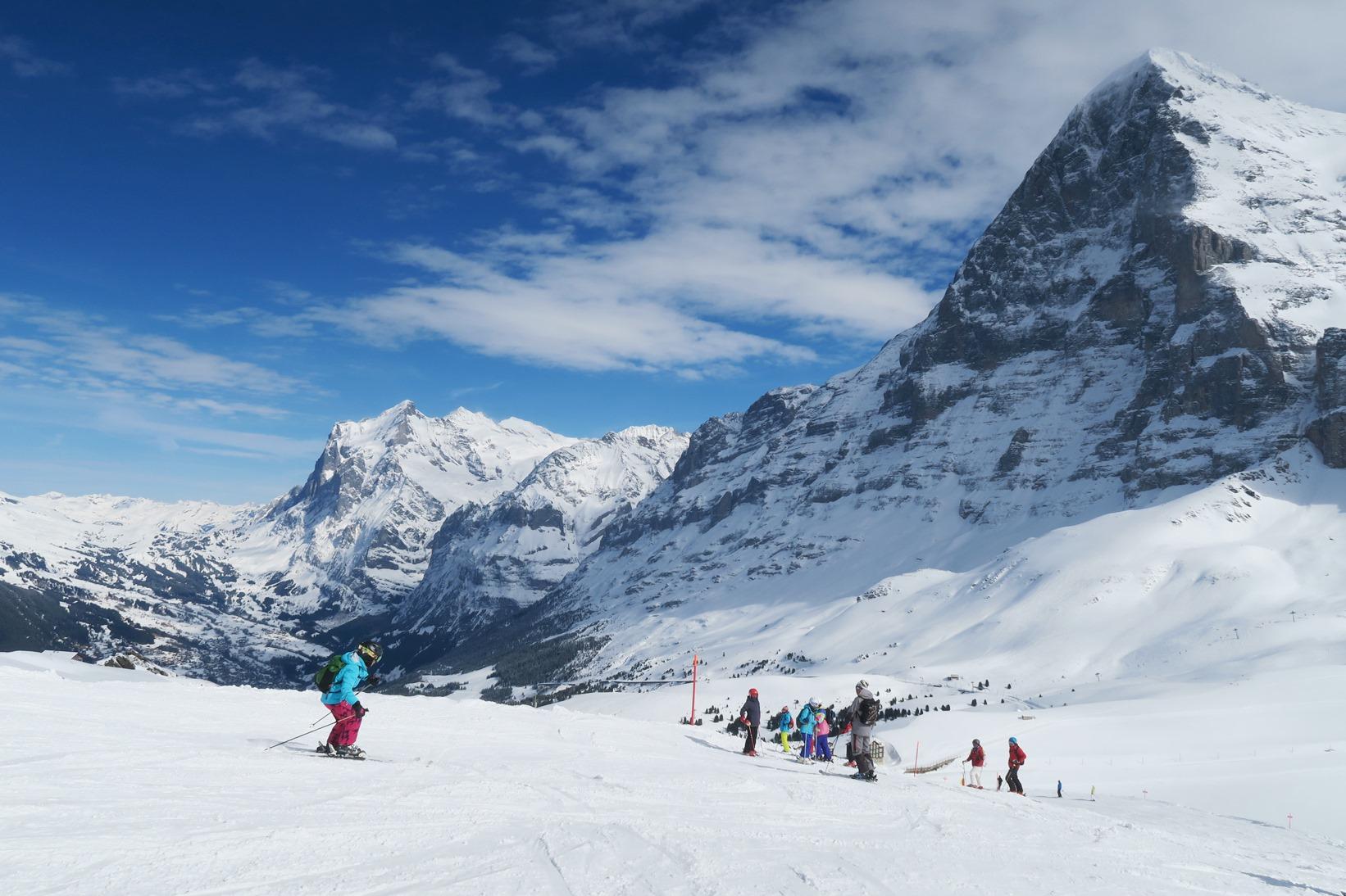【催行間近・大募集中】1月21日出発 スイス・グリンデルワルト・ゆったりスキー 8日間