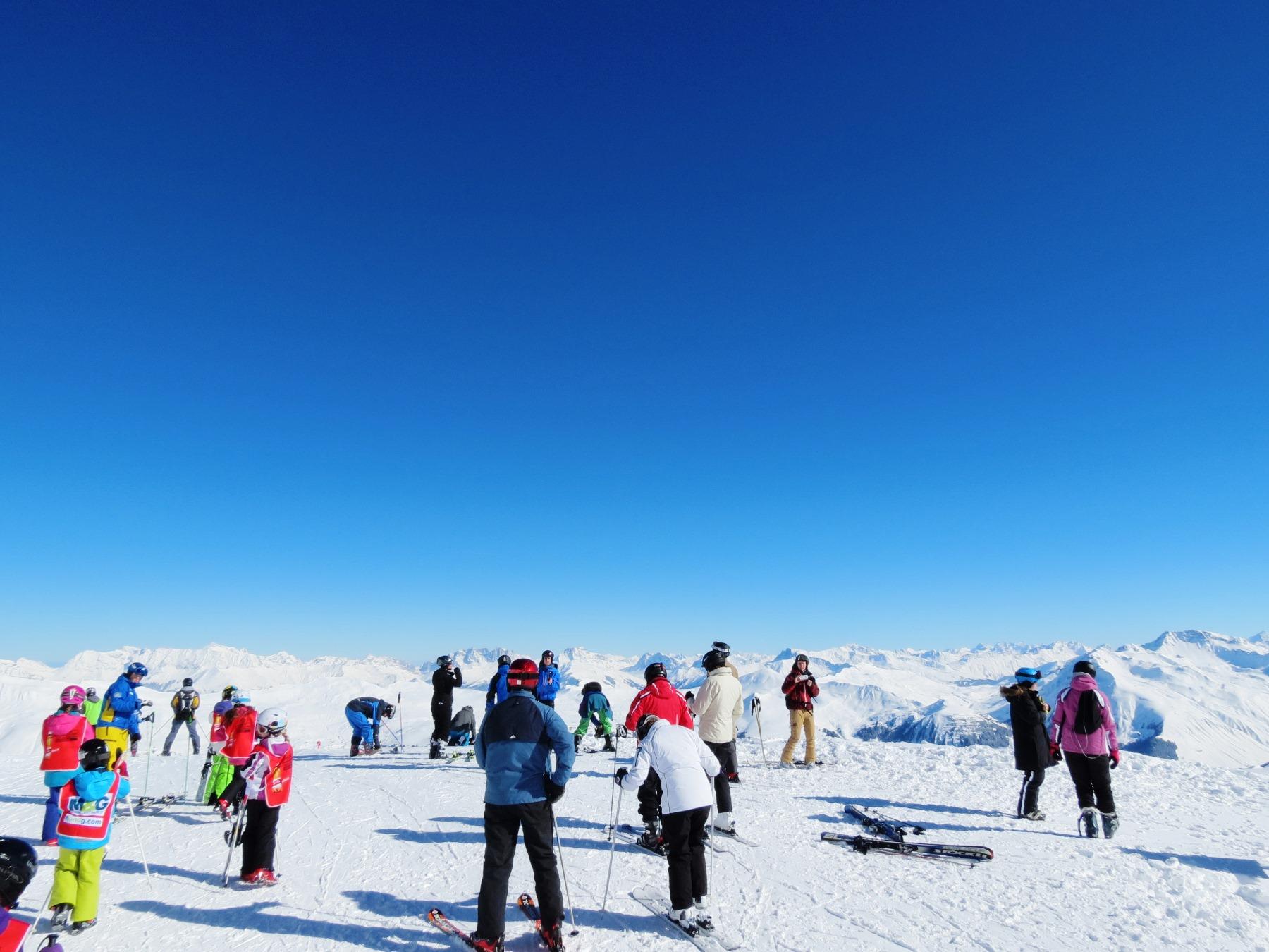 スイス・アローザ・スキー 8日間