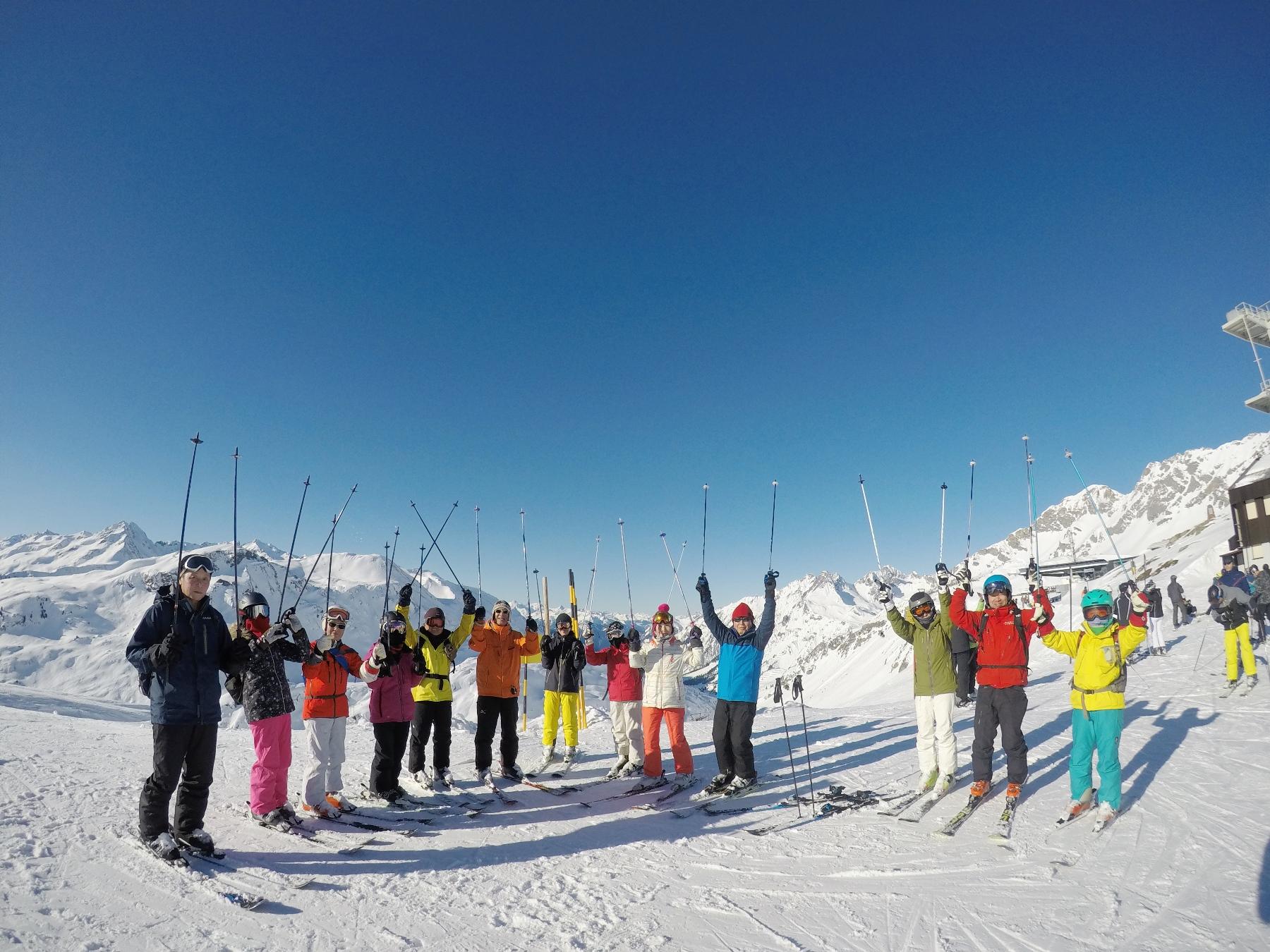 オーストリア・レッヒ・スキー 8日間