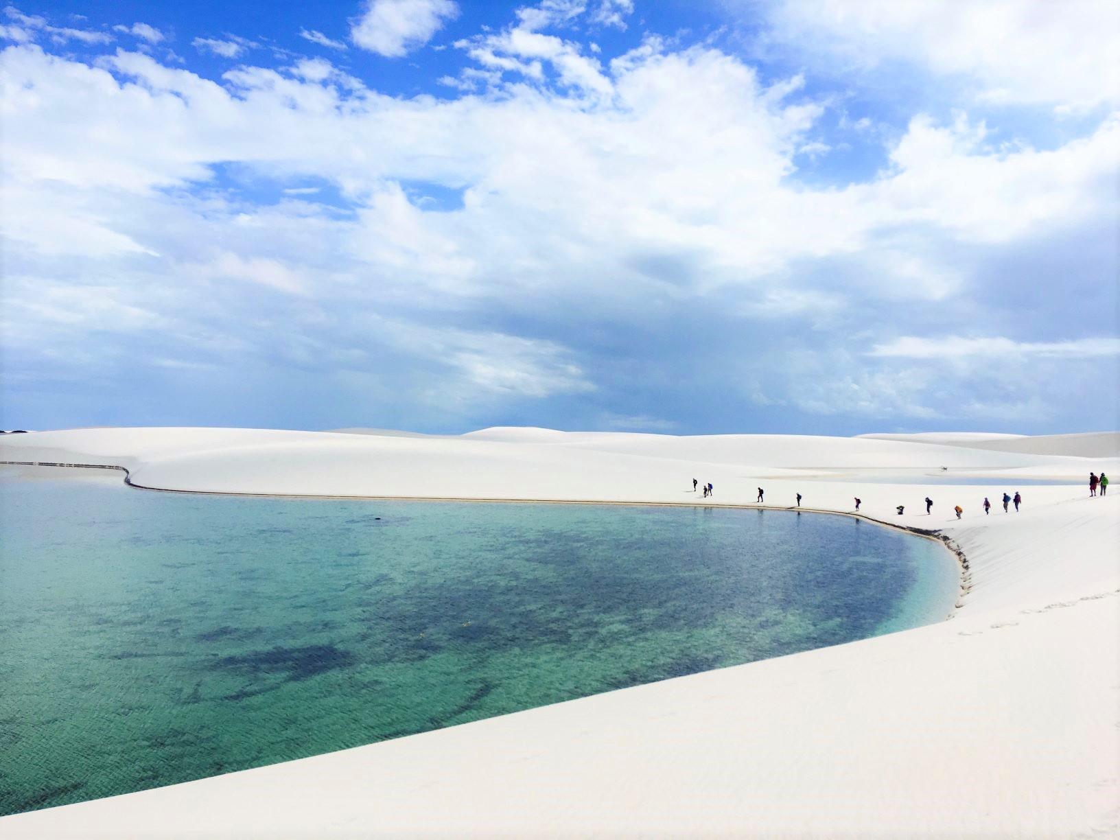 ブラジルの絶景 レンソイス白砂漠トレッキングとアマゾン・ジャングルロッジ滞在 13日間