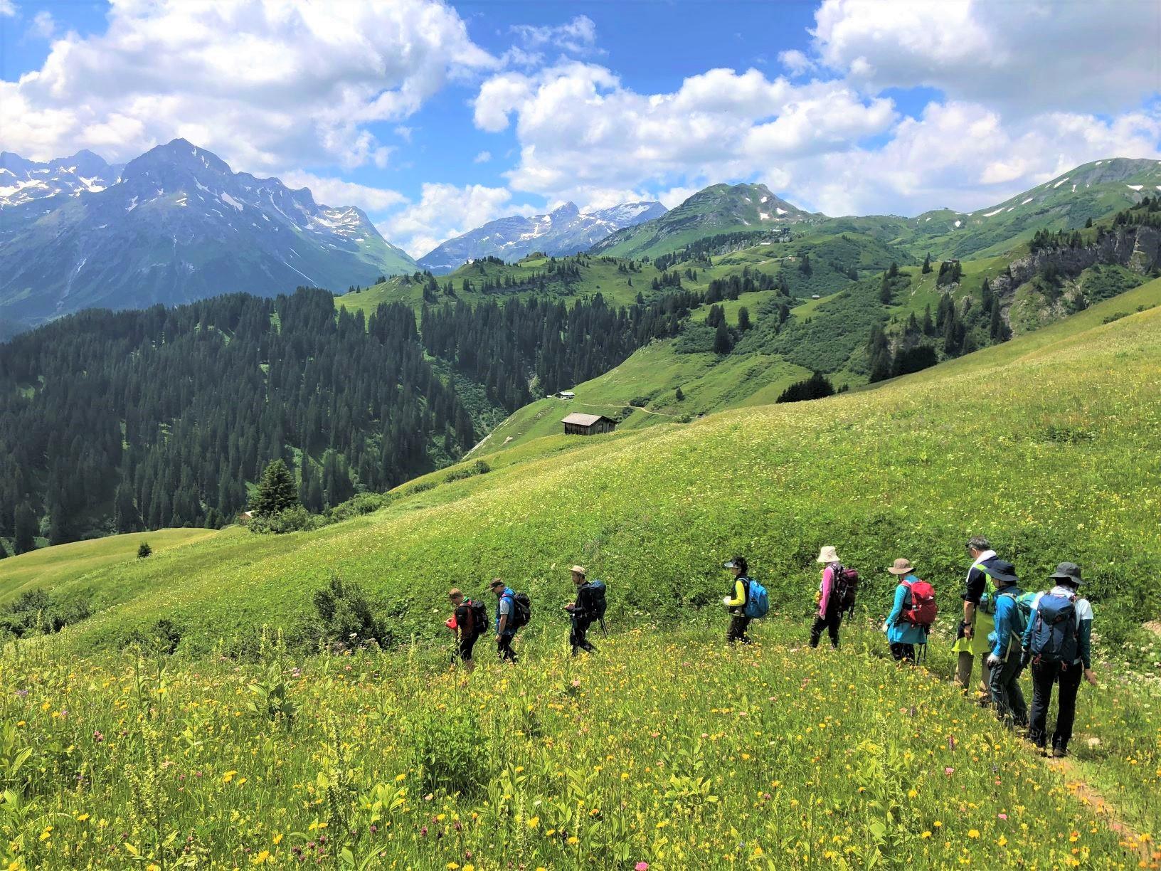 緑豊かなチロルの美しい村々ゆったり滞在とドロミテの岩峰展望ハイキング 11日間