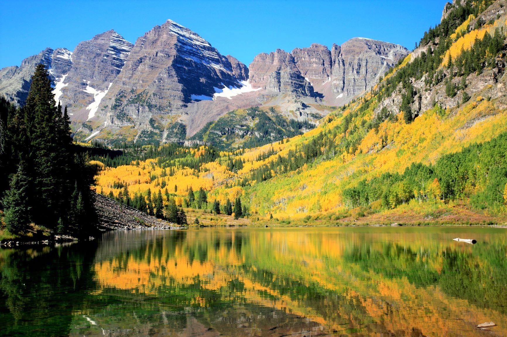 黄葉彩るアメリカン・ロッキー 秋のコロラド満喫ハイキング 8日間