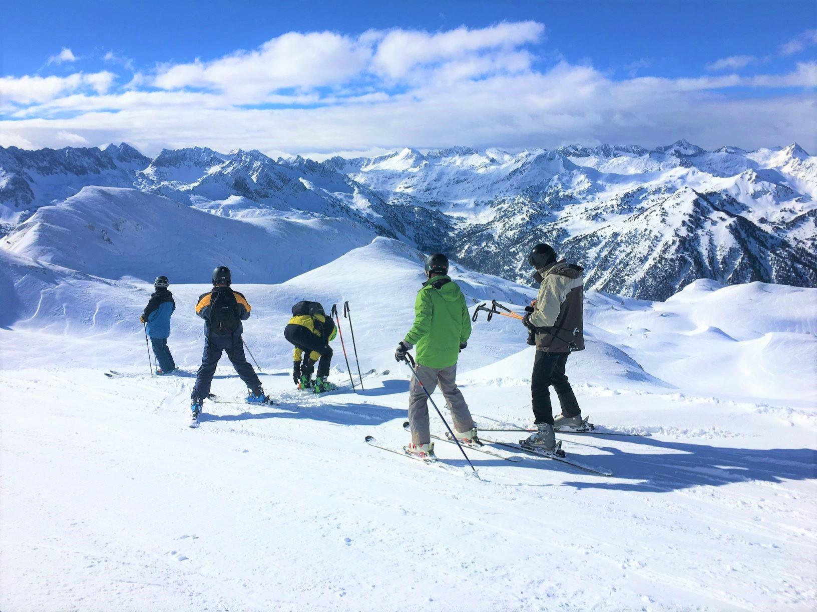 スペイン・ピレネー・スキー 8日間