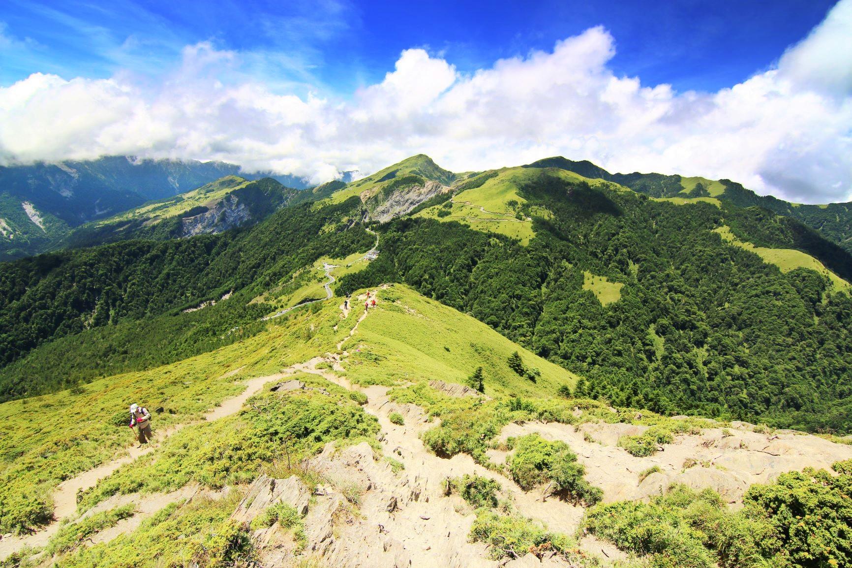 台湾百岳・合歓山2座登頂と太魯閣峡谷ハイキング 5日間